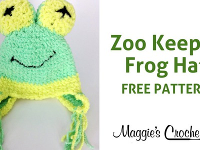 Frog Hat Free Crochet Pattern Right Handed