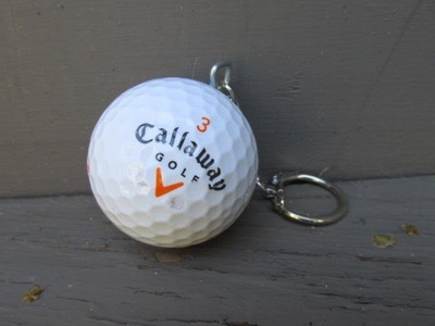 Golf Ball Keychain for Father's Day Craft Tutorial