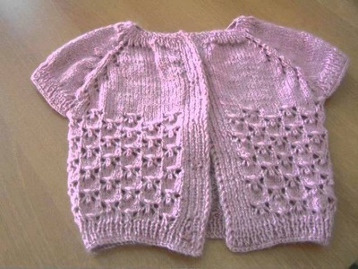 How to Baby Knitting Vest Tutorial