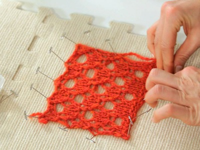 How to Block | Knitting