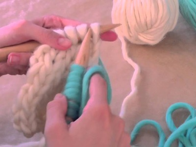 How to change yarn wool balls | We Are Knitters