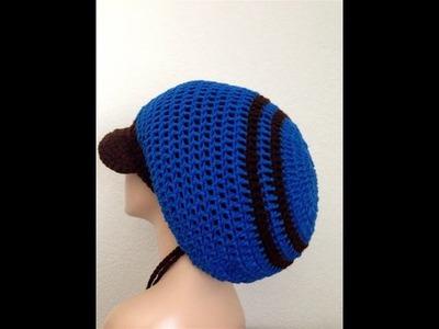 How to Crochet a Mega Rasta Tam. Part II