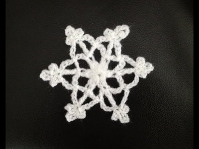 How to Crochet a Snowflake P#3 by ThePatterfamily