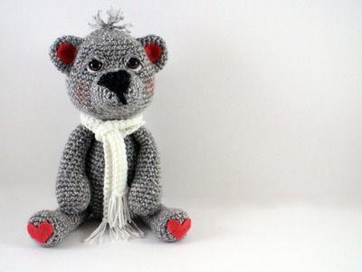 How to Crochet a Teddy Bear Video 2