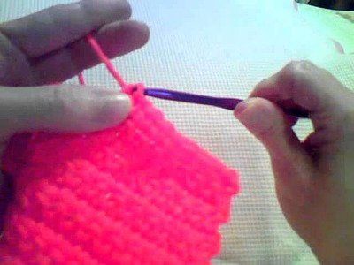 How to Crochet - Beginner Single Crochet Swatch (Part 2)