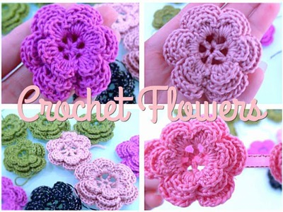 How To Crochet Flower #14