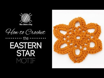 How to Crochet the Eastern Star Motif