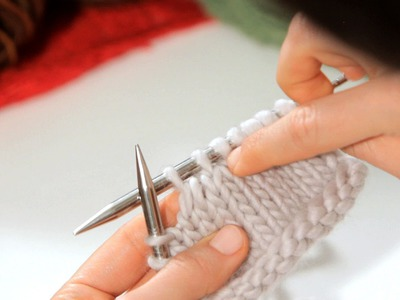 How to Do a K2Tog aka Right-Leaning Decrease   Knitting