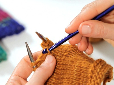 How to Fix a Dropped Stitch | Knitting