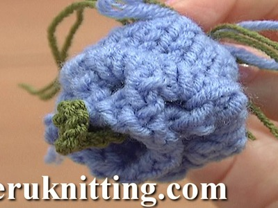 How to Knit Bell Flower Knitting Tutorial 12 Beautiful Flowers to Knit