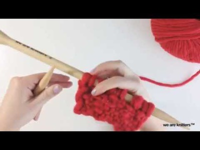 How to knit Linen stitch | We Are Knitters