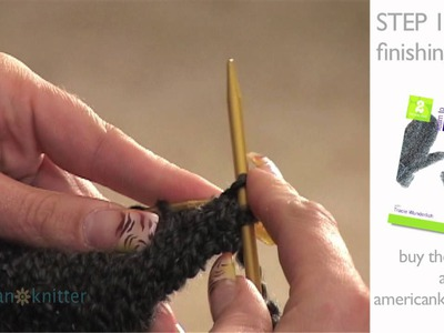 How To Knit Mittens: Step 10 - Finishing the Body