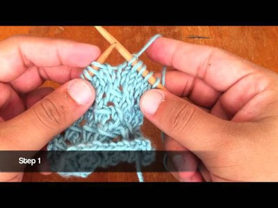 How to Knit the Pass Slipped Stitch Over Decrease (PSSO)