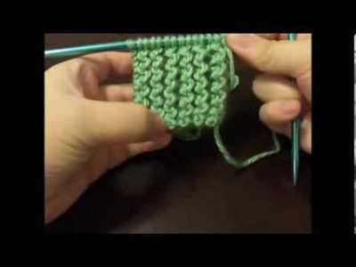 How To Knit The Rickrack Rib Stitch (Flat)