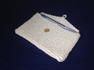 How to Loom Knit a Briefcase (DIY Tutorial)