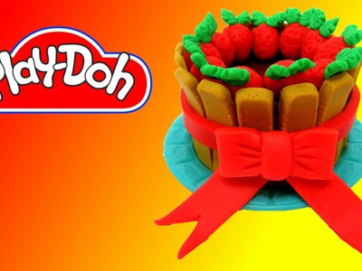 How to make Charlotte Cake out of Play Doh