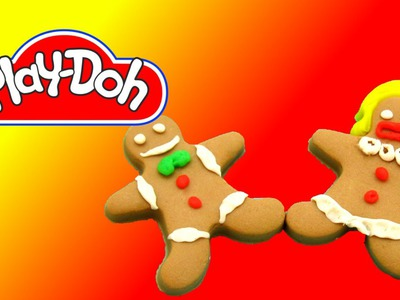 How to make  Gingerbread Cookies out of Play Doh