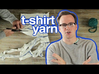 How to Make T-Shirt Yarn Without Knots!