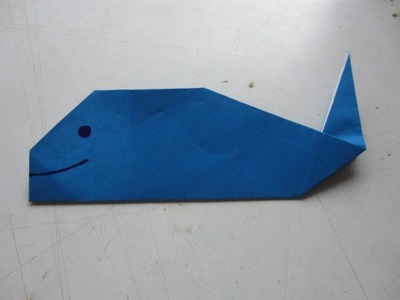 How To Make Whale Fish Paper Craft Art