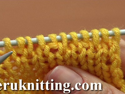 Knit 1 Back and Front Increase Tutorial 8 Method 1 of 14 Basic Increases In Knitting