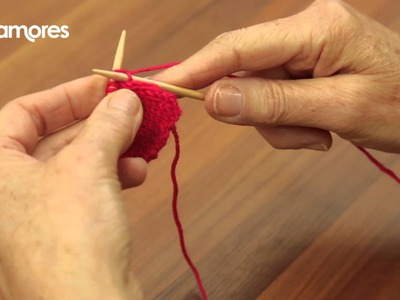 Knit Front And Back (KFB) - Deramores Knitting Tutorial