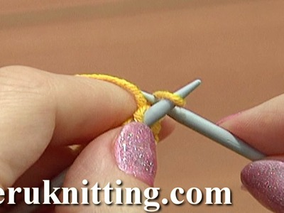 Knit Rib Cable Cast-On Tutorial 1 Method 7 of 18 Knitting Basics