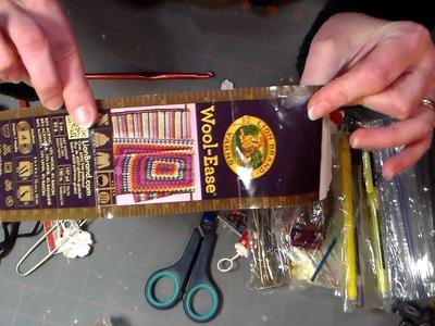 Knitting & Crochet Supply & Yarn Storage!