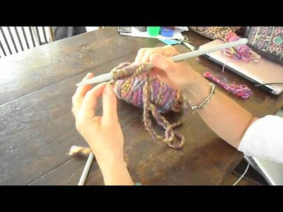 Knitting: How To Cast On and Plain Knit Stitch