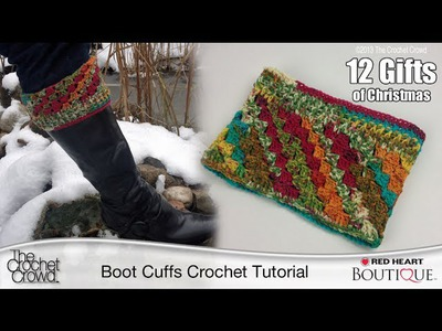 Learn How to Crochet Boot Cuffs to Accessorize Your Winter Wardrobe