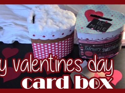Lets Craft a DIY Valentines Day Card Box