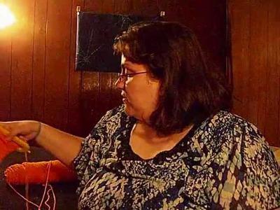 Loom Knitting: Adding Beads