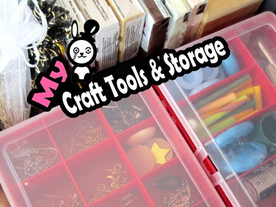 ☮ My Craft, DIY & Polymer Clay Storage ☮