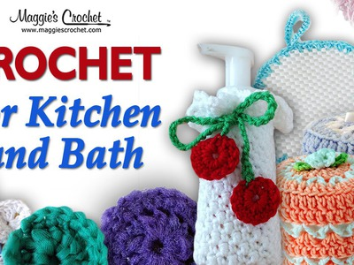 Nylon Scrubby Free Crochet Pattern - Right Handed