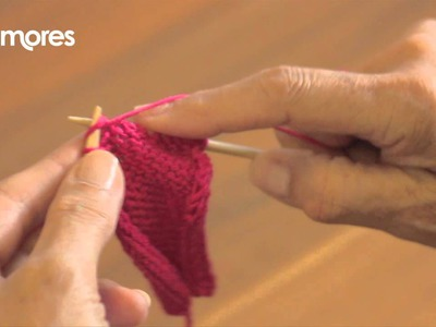 Purl Stitch - Deramores Knitting Tutorial