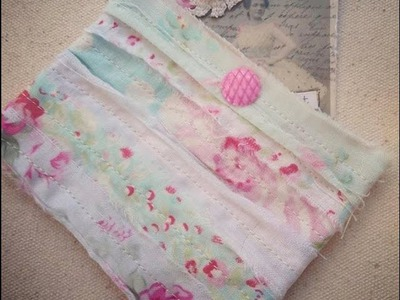 Retro Craft: DIY Shabby Scrappy Fabric