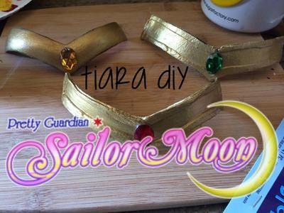 Sailor Scout Tiara DIY (Worbla & Craft foam)