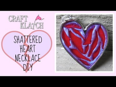 Shattered Heart Necklace DIY   Craft Klatch Jewelry Series