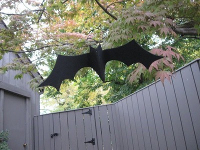 Silhouette Bat Craft Tutorial