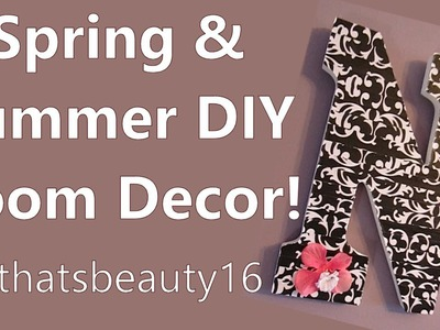 Spring & Summer DIY Room Decor Projects ♡ 2014 | allthatsbeauty16