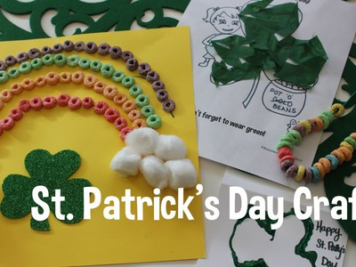 St. Patrick's Day Crafts w.your toddler! DIY!
