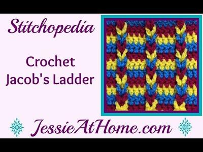 Stitchopedia ~ Jacob's Ladder Stitch ~ Crochet