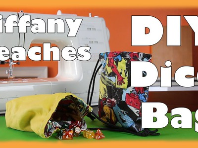 Tiffany Teaches: DIY Dice Bag Tutorial