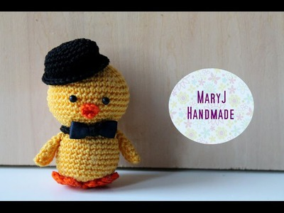Tutorial: pulcino amigurumi | How to crochet an amigurumi chick