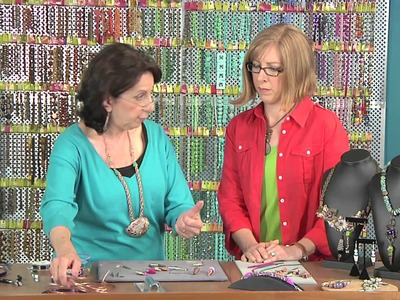 2105-1 Sandra Lupo makes wire-wrapped cones for end caps & more on Beads, Baubles & Jewels