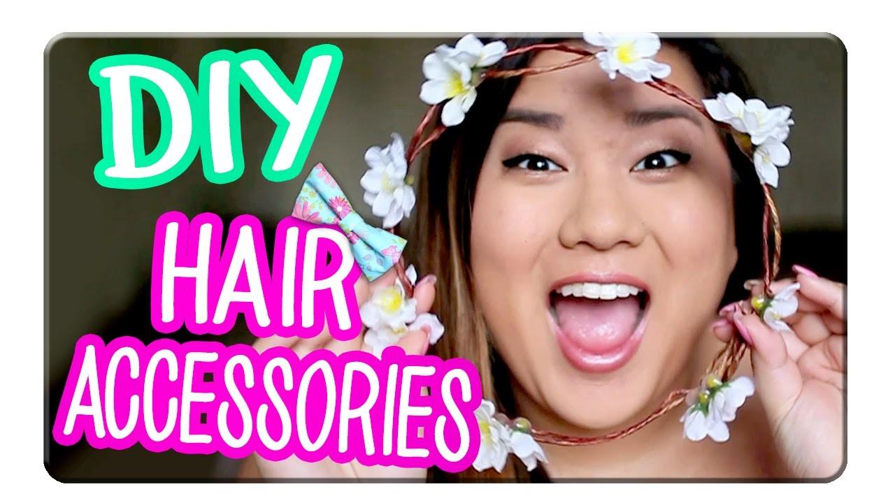 3 Easy DIY Hair Accessories with MissRemiAshten