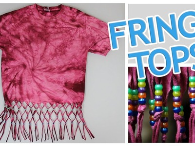 5 Ways To Make A Fringe Top - Do It, Gurl