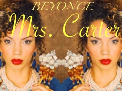 BEYONCE - MRS CARTER -  DIY HALLOWEEN COSTUME