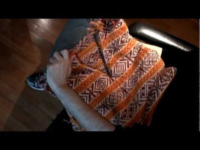 Brazilian Knitter - Cutting steeks - hand knitting - Meg Swansen's Fair Isle Vest