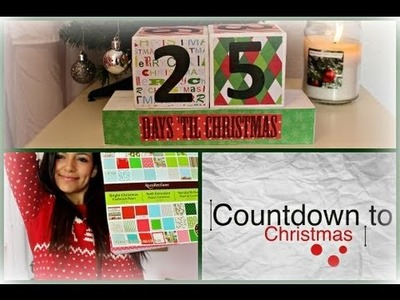 C2C is BACK! Ep.1 DIY Christmas Countdown Blocks