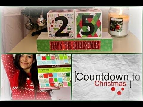 C2C is BACK! Ep.1 DIY Christmas Countdown Blocks